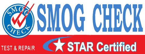 Smog Check | Star Certified | Test & Repair | Vinyl Banner