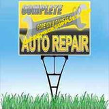 COMPLETE AUTO REPAIR YARD SIGN