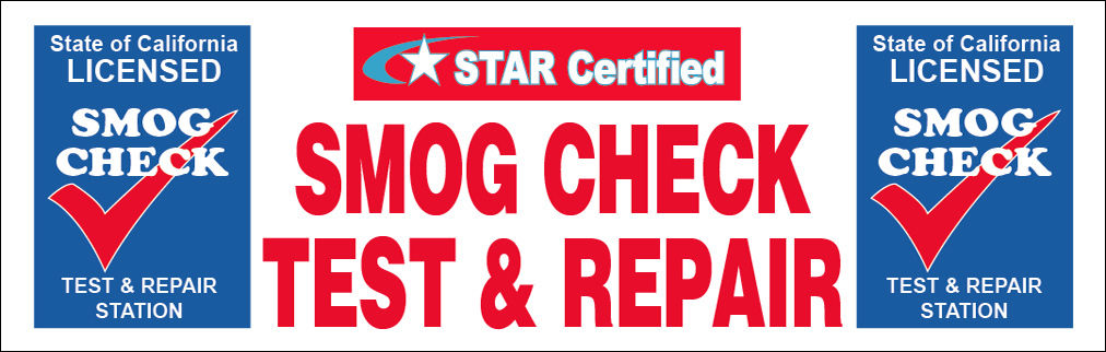 STAR CERTIFIED TEST AND REPAIR BANNER