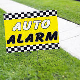 Auto Alarm Service Yard Sign