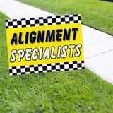 Alignment Specialist Yard Sign
