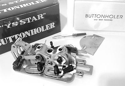Industrial Buttonhole Attachment YS STAR YS-4455 Japan Excellent Quality!