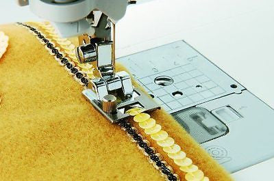 Brother SA141 Braiding Foot WILL FIT ALL LOW SHANK SNAP-ON HOME SEWING MACHINES