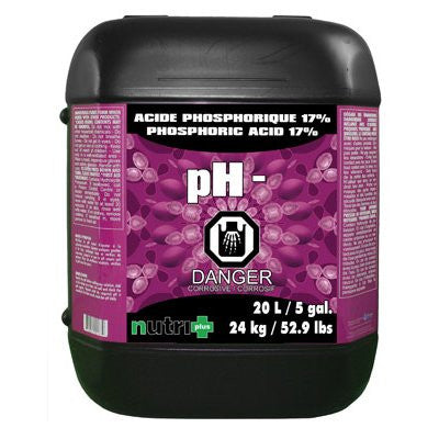 Nutri+ Phosphoric Acid pH- 17% (20L)