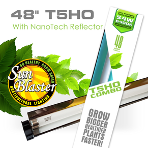 T5HO Combo With NanoTech Reflector (4ft)