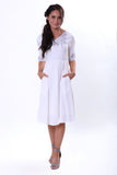 Kristy Dress - White