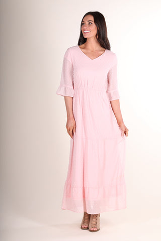 Makayla Maxi Dress -Pink