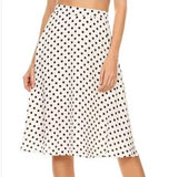 Malina Polka Dot Skirt