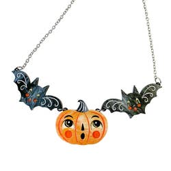 Jack-a-Boo & Batsy Too Necklace