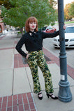 Funky Floral Pants