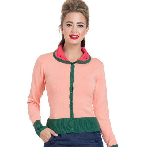 Watermelon Cardigan