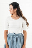 Shaylee Top - White