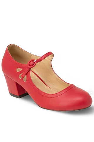 Effie Vintage Shoe- Red