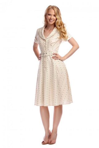 Brette Polka Dot Dress