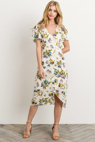 Perfect Pansy  Dress