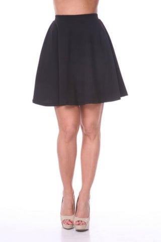 Jane Skirt - Black 21""