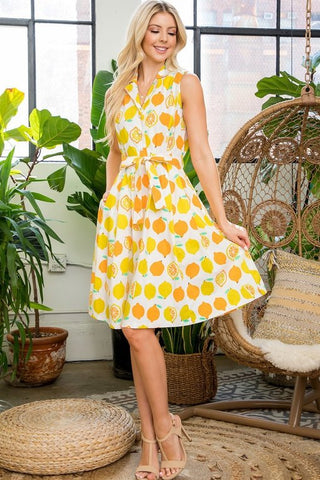 Lovely Lemon Dress