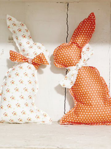 Sewing Kit / Fabric Bunny Kit S/2