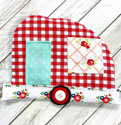 Retro Trailer Reversible Hot Pad