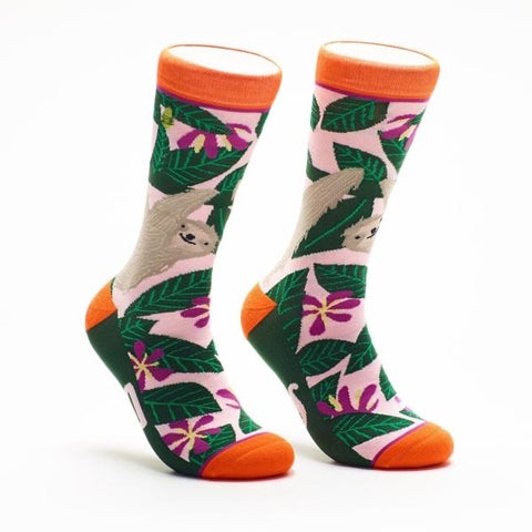 Slow Down Sloth Socks
