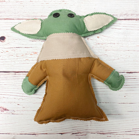 Sewing Kit Baby Yoda  - Sleepy/Awake