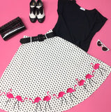 Flamingo Fling Skirt