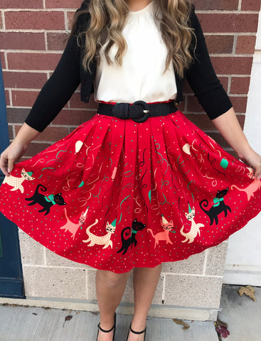 Party Cat Skirt