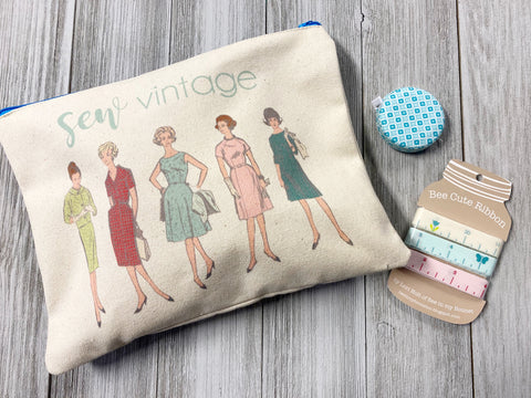 Vintage Sewing Gift Set
