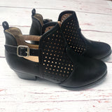 Teddy Bootie Black
