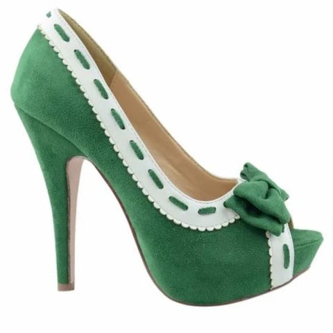 Georgia Green Vintage Shoe