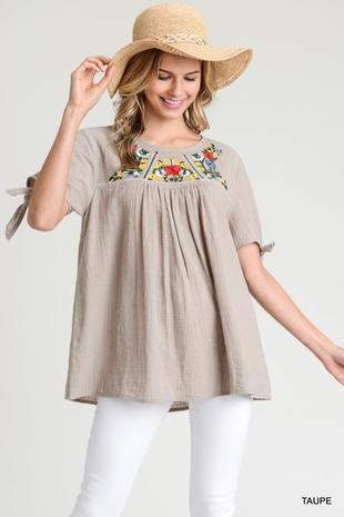 Jodi Embroidered Top