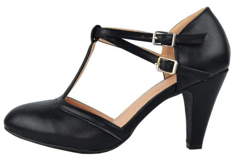 Elaine Vintage Shoe - Black