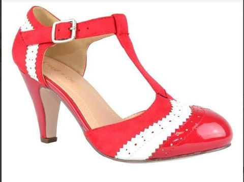 Maggie Vintage Shoe - Red