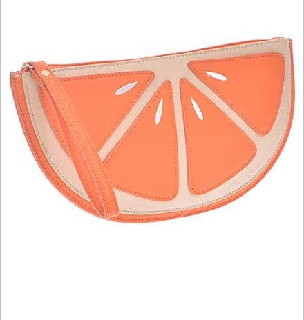 Fruit Orange Clutch