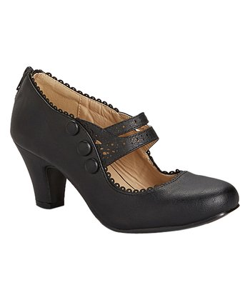 Bertie Vintage Shoe Black