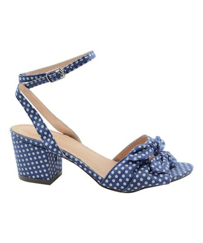 Navy Polka Dot Shoes