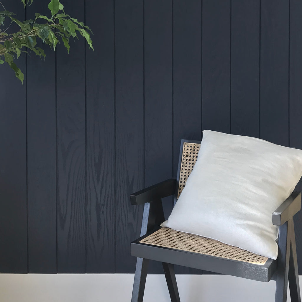 Midnight Navy Oak Shiplap