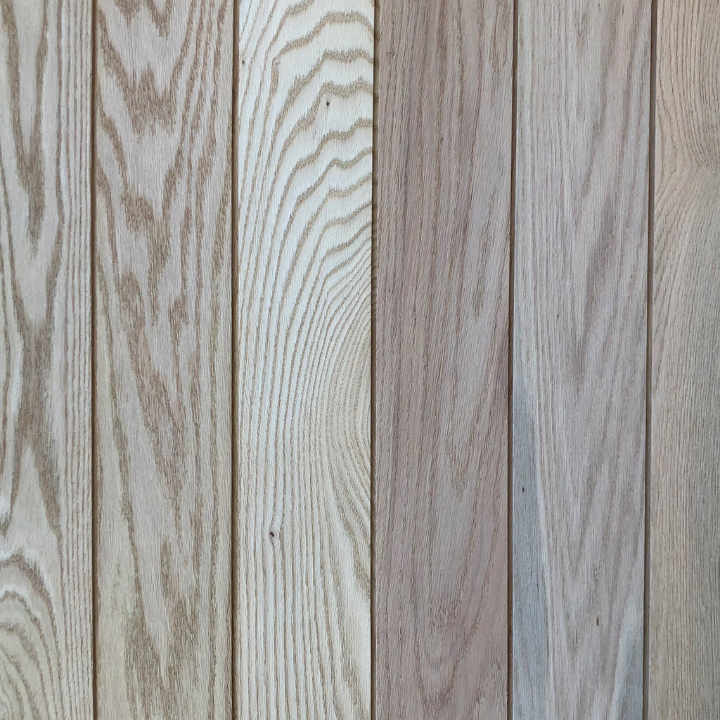 Raw Oak Shiplap