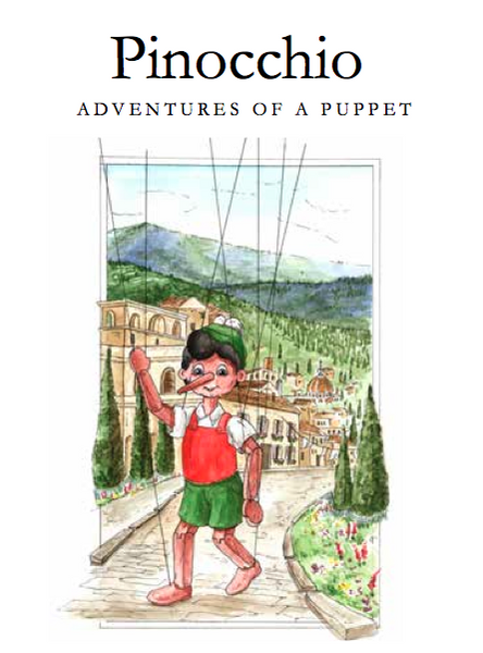 Pinocchio, The Adventures of a Puppet - Hathaway House Books  - 1