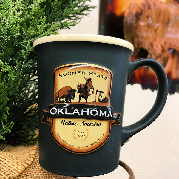 Oklahoma Brown Mug