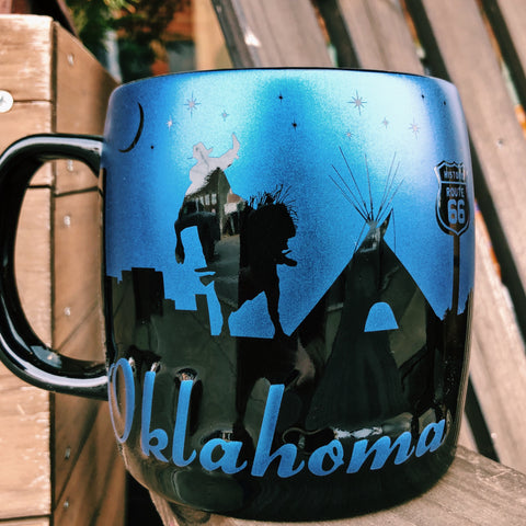 Oklahoma Night Sky Mug