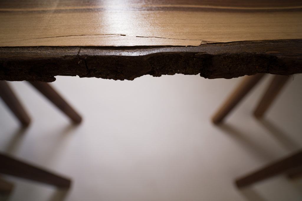 Walnut Saw Horse Table