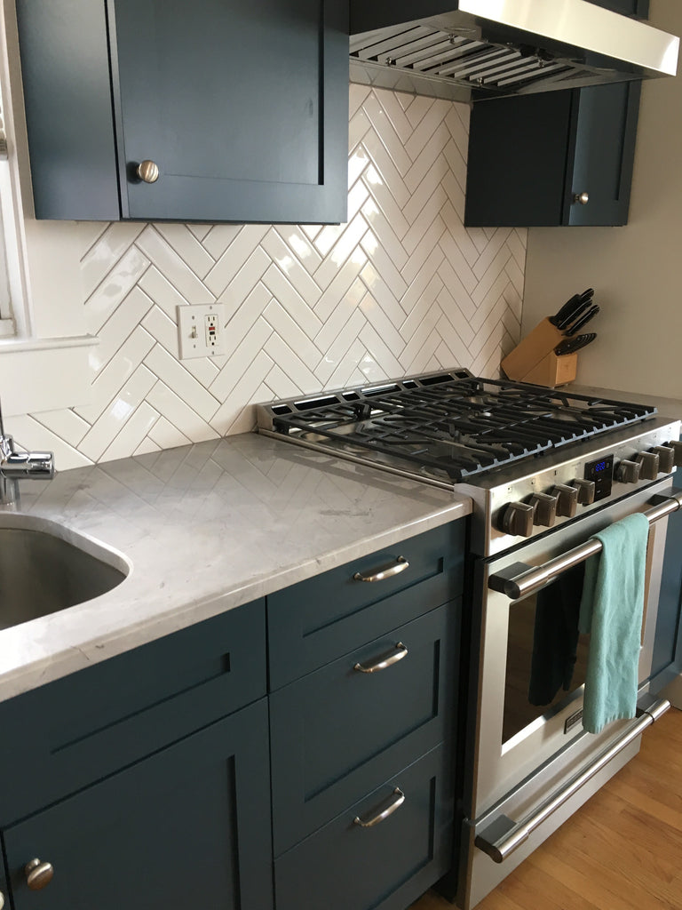 Shaker kitchen update