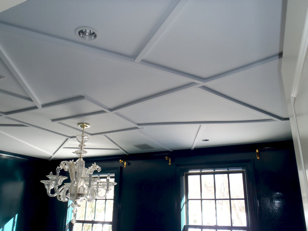 Geometric Coffered Ceiling