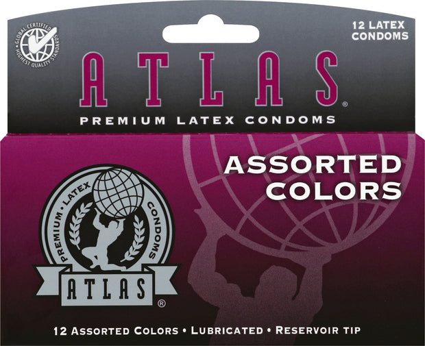 Atlas Colors 12pks, Case of 48 (8 Bundles of 6)