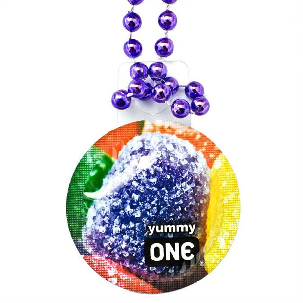 ONE® Contest Collection Condom Throw Beads, Box of 36