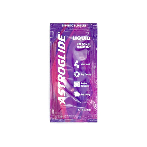 Astroglide 2.5 mL Foil Packs, Case of 1000