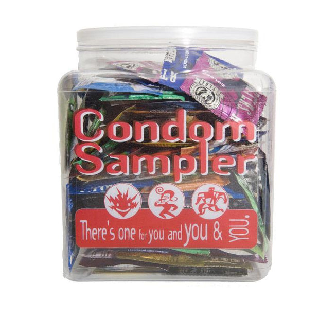 Assorted Condom Sampler, Bowl of 144