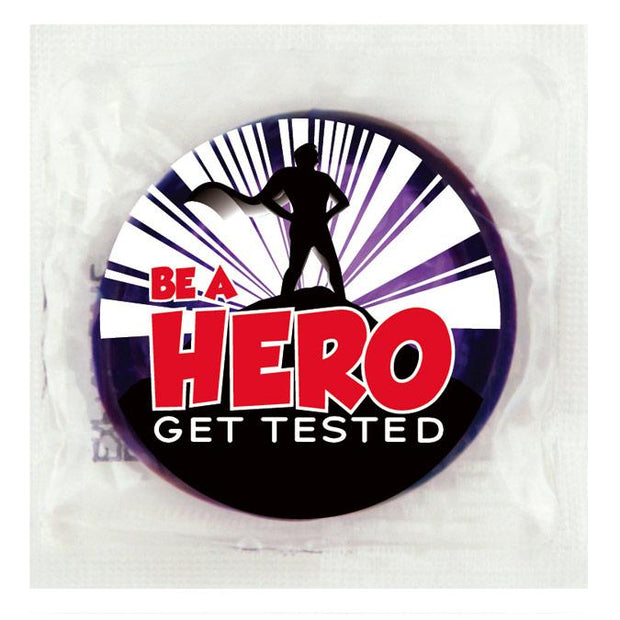 Be a Hero Condoms,  Bag of 50