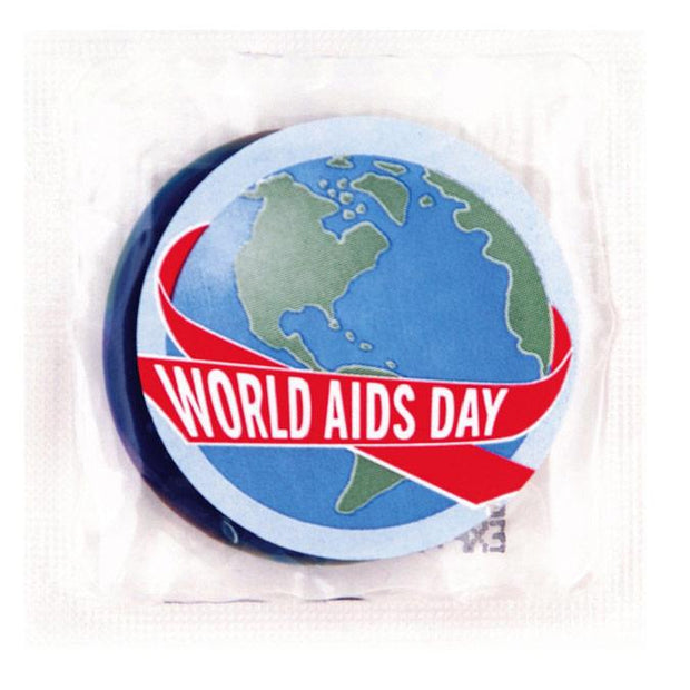 World Aids Day Condoms,  Bag of 50